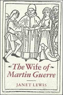 Portada a modo de grabado de La mujer de Martin Guerre