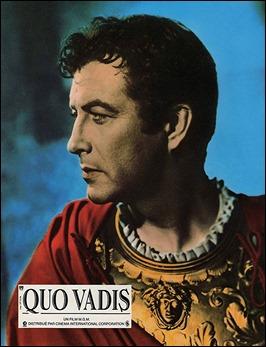 Robert Taylor, un adecuado Marco Vinicio en Quo Vadis