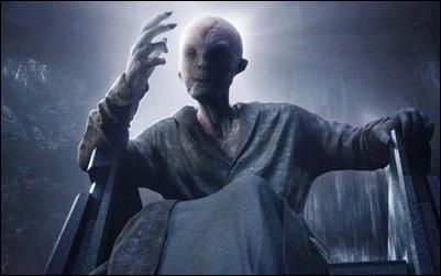Snoke, el líder supremo de la Primera Orden