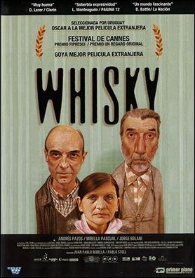 Cartel de Whisky