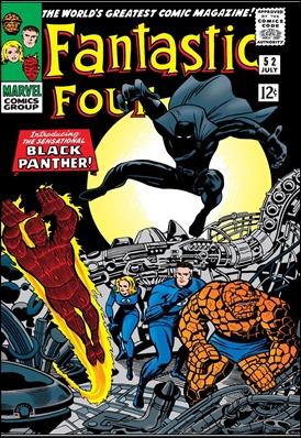 El debut de Pantera Negra en el 52 de Fantastic Four