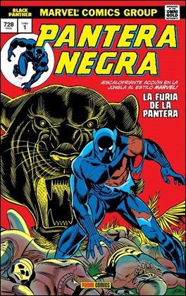 El reciente tomo de Panini que publica la etapa en solitario de Pantera Negra de los años 70