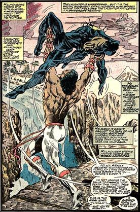 Erik Killmonger, nemesis de Pantera Negra, por Rich Buckler