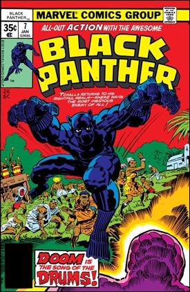 Portada para Black Panther 7 de Jack Kirby, su creador