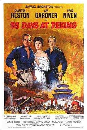 Poster de 55 dias en Pekin