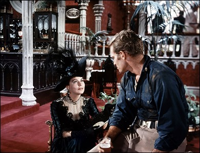 Saltan las chispas entre Ava Gardner y Charlton Heston