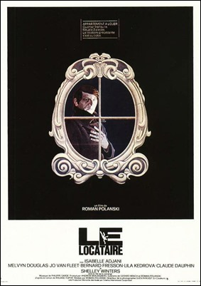 Cartel original de El quimerico inquilino de Polanski