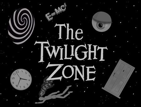 Imagen promocional de La Dimension Desconocida, o The Twilight Zone en el original