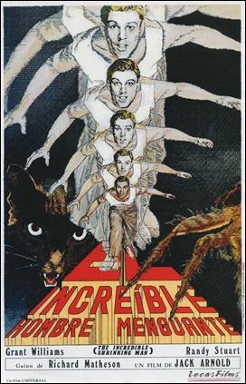 Poster de El increible hombre menguante