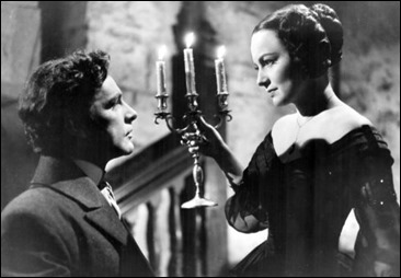 My Cousin Rachel (1952) directed by Henry Koster shown: Richard Burton, Olivia de Havilland