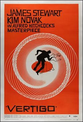 El genial poster de Vertigo, por Saul Bass