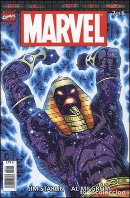El faraon Akenaton, el villano aparente de Marvel El Fin