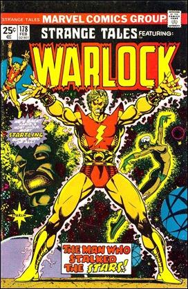Primer numero de Warlock por Jim Starlin