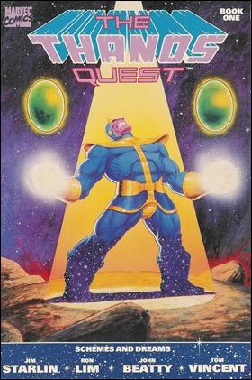 The Thanos Quest, a cargo de Lim y Starlin