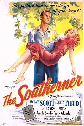 Cartel de The Southerner, de Renoir