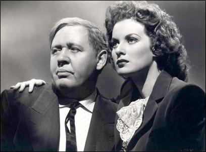 Charles Laughton y Maureen O'Hara en Esta tierra es mia