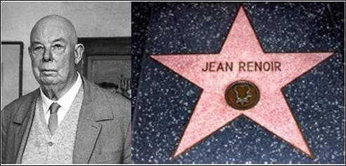 Hasta Jean Renoir tiene su estrella en el paseo de la fama de Hollywood