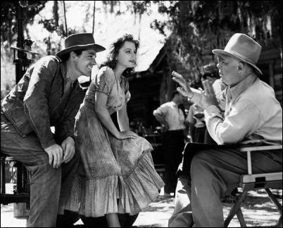 Jean Renoir dirige a Dana Andrews y Anne Baxter en su debut en Hollywood