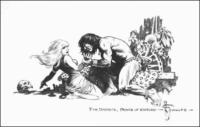 Mark Schultz ilustra El valle de las mujeres perdidas