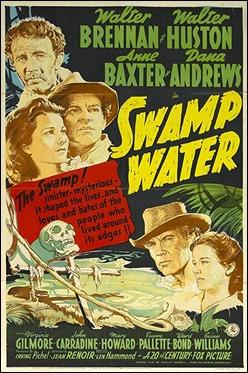 Poster estadounidense de Aguas pantanosas