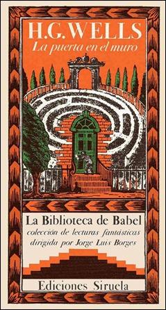 Edicion en La biblioteca de Babel de La puerta en el muro
