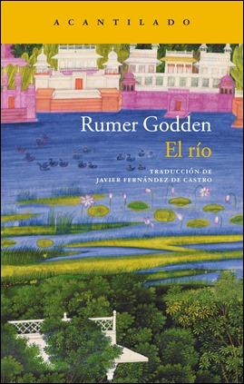 Bonita portada de El rio, de Rumer Godden, en Acantilado