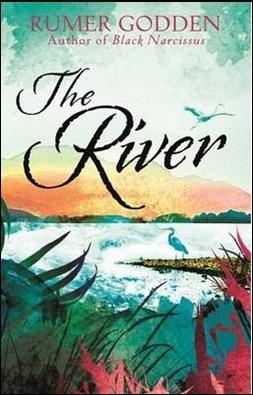 Portada de una edicion inglesa de El rio, de Rumer Godden