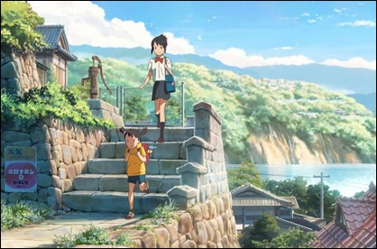 Dibujos como este vinculan a Shinkai y a Miyazaki