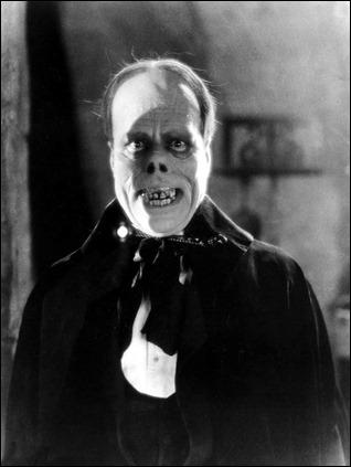 El escalofriante maquillaje de Lon Chaney para El fantasma de la opera
