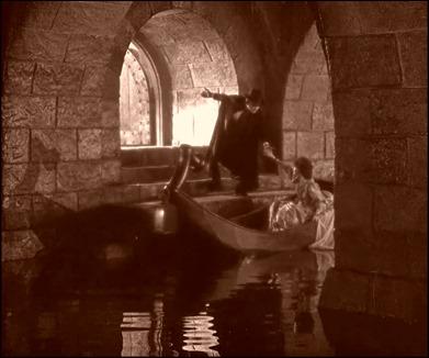 Los famosos subterraneos acuaticos de la morada del fantasma de la opera