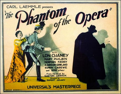 Poster de la version Chaney de el fantasma de la opera