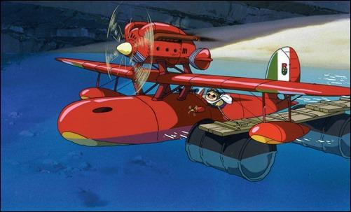 Porco Rosso siempre sera mi pelicula favorita de Miyazaki