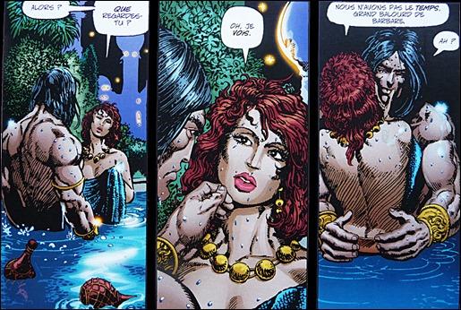 Conan y Red Sonja, saltan chispas