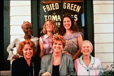 Fannie Flagg y las protagonistas de Tomates verdes fritos