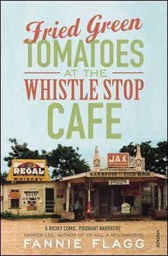 Portada de una edición estadounidense de Tomates verdes fritos en el café de Whistler Stop