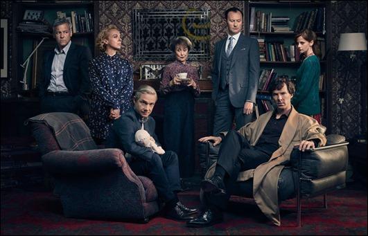 Todos los personajes de la serie Sherlock