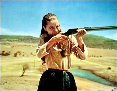 Audrey Hepburn, insolita en un western, es Rachel en Los que no perdonan