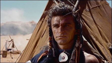 El jefe Cicatriz, Henry Brandon en The Searchers