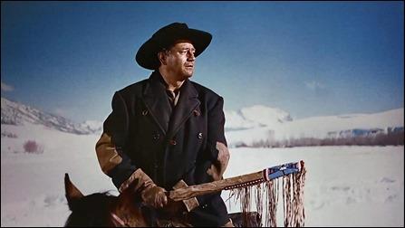 Inmortal John Wayne como Ethan Edwards en Centauros del desierto