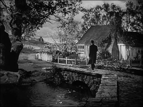La casa de vallas de madera de Devon, la Luz