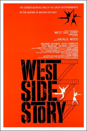 El mitico poster de West Side Story