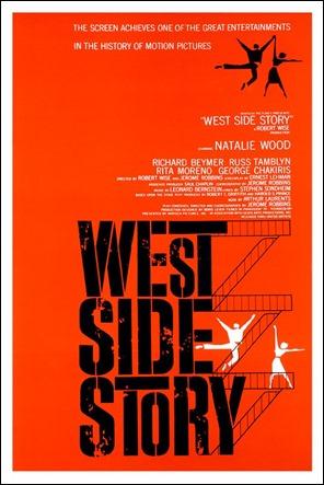 El mitico poster de West Side Story