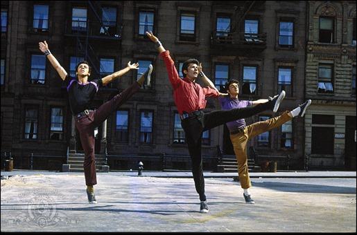 Mitico plano de West Side Story