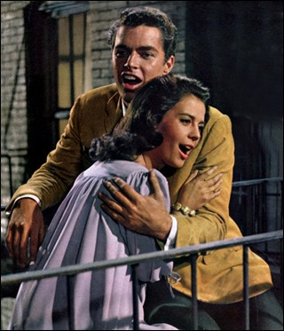 Richard Beymer y Natalie Wood son Tony y Anita
