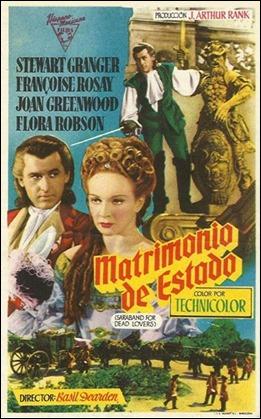 Cartel español de Matrimonio de estado