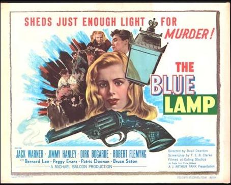 Cartel original de El farol azul