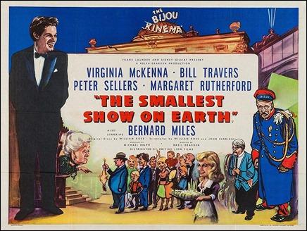 Divertido cartel de The Smallest Show on Earth