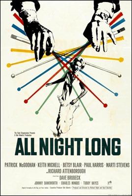 Expresivo poster original de Noche de pesadilla
