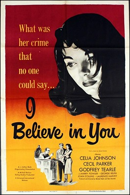 Poster de I Believe in You, que destaca a Joan Collins