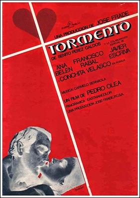 Cartel de la adaptacion de Tormento, de Pedro Olea